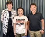 同学年プロレストークが実現!TBSラジオの特番に出演する(左から)博多大吉、プチ鹿島、初田啓介アナウンサー (C)ORICON NewS inc.