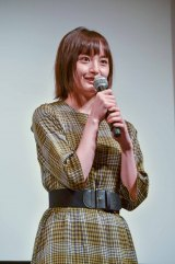 映画『ゆらり』のトークイベントに登壇した萩原みのり