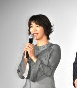 映画『ミックス。』初日舞台あいさつに出席した田中美佐子 (C)ORICON NewS inc.