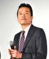 映画『ミックス。』初日舞台あいさつに出席した遠藤憲一 (C)ORICON NewS inc.