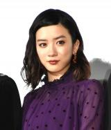 映画『ミックス。』初日舞台あいさつに出席した永野芽郁 (C)ORICON NewS inc.