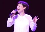 『Mika Shinno in 2017〜2017年の神野美伽〜』開演前に取材会を行った神野美伽 (C)ORICON NewS inc.