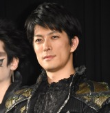舞台『銀岩塩vol.2 LIVE ENTERTAINMENT「牙狼<GARO> -神ノ牙 覚醒-」GARO-KAMINOKIBA MEZAME-』の制作発表会に出席した君沢ユウキ (C)ORICON NewS inc.