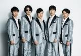 ゴスペラーズの酒井雄二(右から2番目)が入籍を発表
