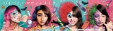 ド派手なハロウィンメイクの夢みるアドレセンス(左から小林れい、荻野可鈴、志田友美、京佳)
