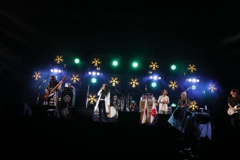RIZE、Char・金子マリと夢の親子初共演が実現=『RISING SUN ROCK FESTIVAL 2017 in EZO』 (C)Photo by HAJIME KAMIIISAKA