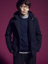 『smart』12月号で本格モデルに挑戦した三四郎・小宮浩信