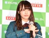『欅坂46 UNIFORM MUSEUM supported by XYLITOL20th』開催記念イベントに出席した欅坂46・渡辺梨加 (C)ORICON NewS inc.