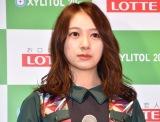 『欅坂46 UNIFORM MUSEUM supported by XYLITOL20th』開催記念イベントに出席した欅坂46・佐藤詩織 (C)ORICON NewS inc.