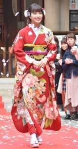 映画『先生! 、、、好きになってもいいですか?』大ヒット祈願イベントに出席した広瀬すず (C)ORICON NewS inc.