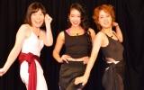 (左から)尼神インター・誠子、紅蘭、尼神インター・渚 (C)ORICON NewS inc.