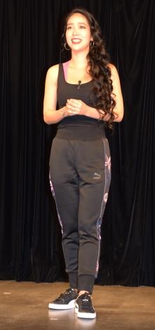 都内で映画『ポリーナ、私を踊る』公開直前イベントに参加した紅蘭 (C)ORICON NewS inc.