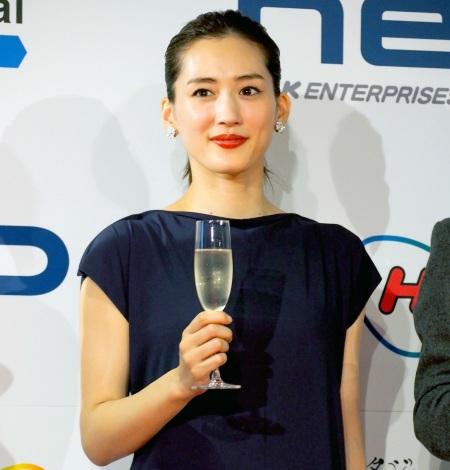 『JAPAN CONTENT SHOWCASE 2017』のウェルカムパーティーにスペシャルゲストとして出席した綾瀬はるか (C)ORICON NewS inc.