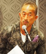 『JAPAN CONTENT SHOWCASE 2017』のウェルカムパーティーにスペシャルゲストとして出席した角田信朗 (C)ORICON NewS inc.