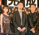 (左から)前田敦子、松田龍平、大泉洋 (C)ORICON NewS inc.