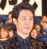 映画『探偵はBARにいる3』のジャパンプレミアの舞台あいさつに登壇した大泉洋 (C)ORICON NewS inc.