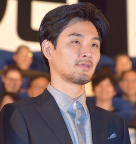 映画『探偵はBARにいる3』のジャパンプレミアの舞台あいさつに登壇した松田龍平 (C)ORICON NewS inc.