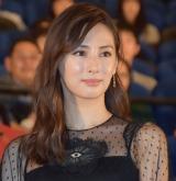 映画『探偵はBARにいる3』のジャパンプレミアの舞台あいさつに登壇した北川景子 (C)ORICON NewS inc.