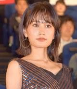 映画『探偵はBARにいる3』のジャパンプレミアの舞台あいさつに登壇した前田敦子 (C)ORICON NewS inc.