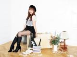 1stアルバム『STAR-T!』をリリースする河西智美