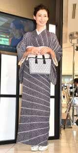 『LIBERTY LONDON×MORIGUCHI KUNIHIKO』オープニングセレモニーに出席した田丸麻紀 (C)ORICON NewS inc.