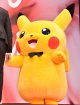 『第30回東京国際映画祭』のオープニングイベントに登場したピカチュウ (C)ORICON NewS inc.