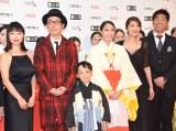 『第30回東京国際映画祭』のオープニングイベントに登場した広瀬アリス(右から3番目)ら (C)ORICON NewS inc.