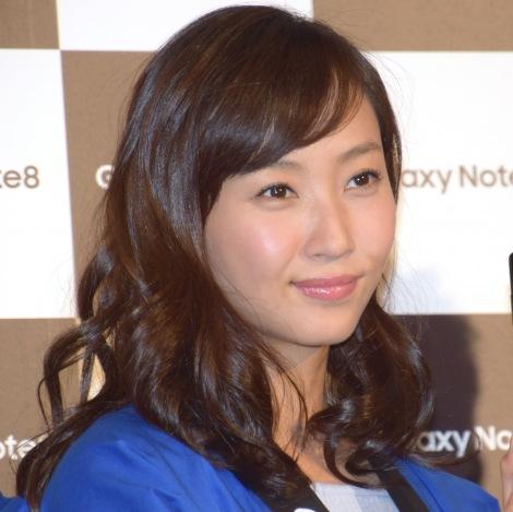 モバイル製品『Galaxy Note8』の発売記念イベントに参加した藤本美貴 (C)ORICON NewS inc.