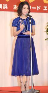 『第3回クリスマスジュエリープリンセス賞』で女優部門を受賞した川島海荷 (C)ORICON NewS inc.