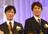 『東京ドラマアウォード2017』の授賞式に出席した(左から)堺雅人、草刈正雄 (C)ORICON NewS inc.
