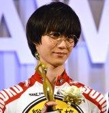 『東京ドラマアウォード2017』で主演女優賞を受賞した小越勇輝 (C)ORICON NewS inc.