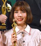 『東京ドラマアウォード2017』で主演女優賞を受賞した仲里依紗 (C)ORICON NewS inc.