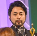 『東京ドラマアウォード2017』で主演女優賞を受賞した山田孝之 (C)ORICON NewS inc.