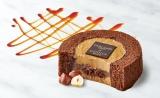 注目のコラボシリーズ第4弾『Uchi Cafe SWEETS×GOVIVA キャラメルショコラロールケーキ』