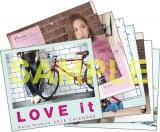西野カナ『LOVE it』特典カレンダー