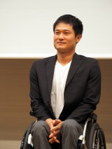 イベント『金メダルが語る!WHO I AMフォーラム with OPEN TOKYO』に出演した国枝慎吾選手 (C)ORICON NewS inc.