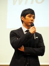 イベント『金メダルが語る!WHO I AMフォーラム with OPEN TOKYO』に出演した西島秀俊 (C)ORICON NewS inc.