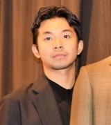 映画『ポンチョに夜明けの風はらませて』初日舞台あいさつに出席した太賀 (C)ORICON NewS inc.