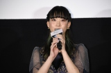 映画『先生! 、、、好きになってもいいですか?』初日舞台あいさつに出席した森川葵