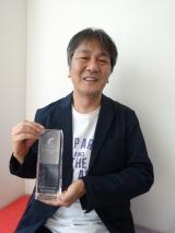 脚本賞を受賞した岡田惠和氏 (C)oricon ME inc.