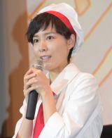 『映画キラキラ☆プリキュアアラモード パリッと!想い出のミルフィーユ!』初日舞台あいさつに出席した森なな子 (C)ORICON NewS inc.