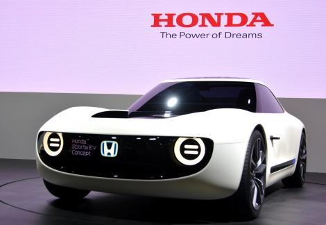 ホンダ「Honda Sports EV Concept」/『第45回東京モーターショー2017』にて/11月5日(日)まで