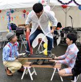『大阪文化芸術フェス』で大道芸も開催
