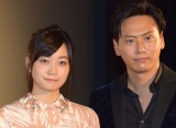 『パンとバスと2度目のハツコイ』で共演した深川麻衣と山下健二郎 (C)ORICON NewS inc.