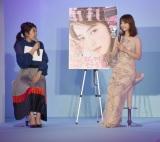 イベント『Wedding Camp』に出演した(左から)横澤夏子、佐々木希 (C)ORICON NewS inc.