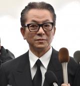 平尾昌晃さんの葬儀・告別式に参列した水谷豊 (C)ORICON NewS inc.