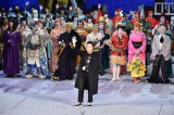 スーパー歌舞伎II『ワンピース』のカーテンコールに登場した市川猿之助