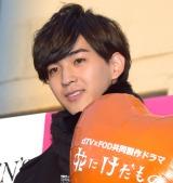 dTVとFODの共同制作ドラマ『花にけだもの』のイベントに登壇した甲斐翔真 (C)ORICON NewS inc.