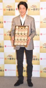 キリン『新・一番搾り』お歳暮発売記念イベントに出席した堤真一 (C)ORICON NewS inc.