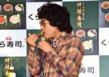 回転ずしチェーン『くら寿司』の新商品発表会に参加した橋本直 (C)ORICON NewS inc.